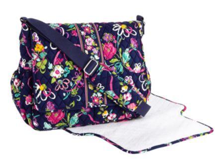 Messenger Baby Bag | Vera Bradley- So cute!! For a boy or a girl!