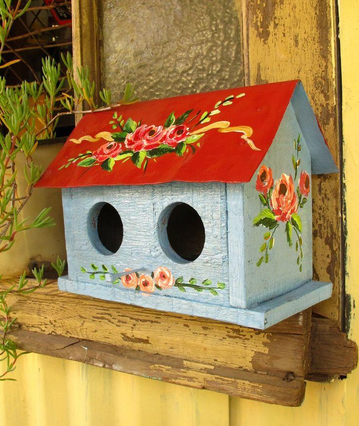 Casitas para pajaros birdhouses casas de - Casas para pajaros ...