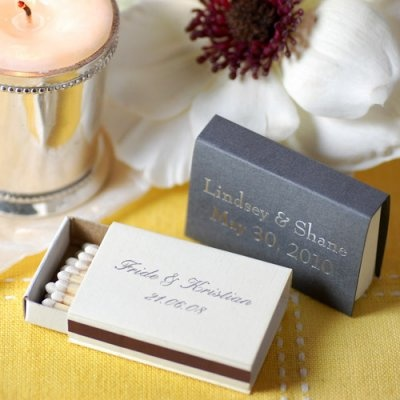 Personalized match boxes weddings pinterest