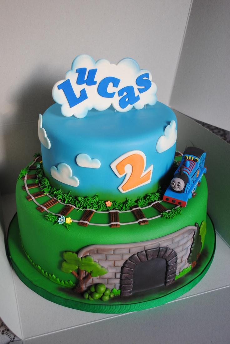 Cake Images Of Thomas The Train : Thomas the Train Cake Maxwell James Pinterest