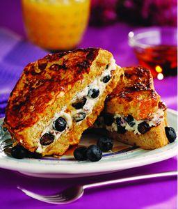 Blueberry Stuffed French Toast | Yummies | Pinterest