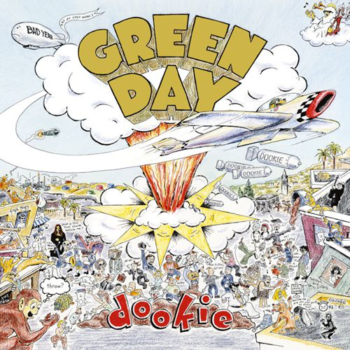 Green Day Dookie Album Cover