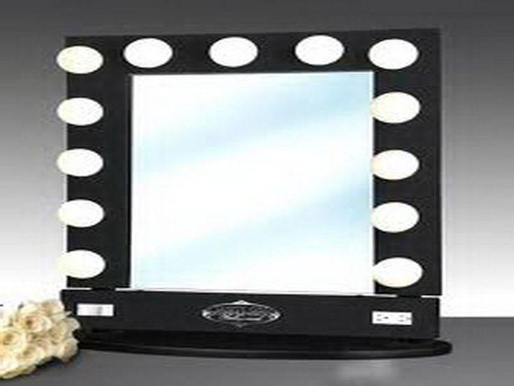 lighted make up vanity mirror decor pinterest. Black Bedroom Furniture Sets. Home Design Ideas