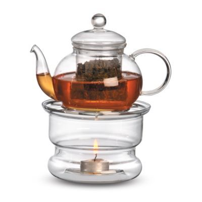 The Sencha Teapot and Ceylon Tea Warmer makes a lovely gift for a tea-lover!