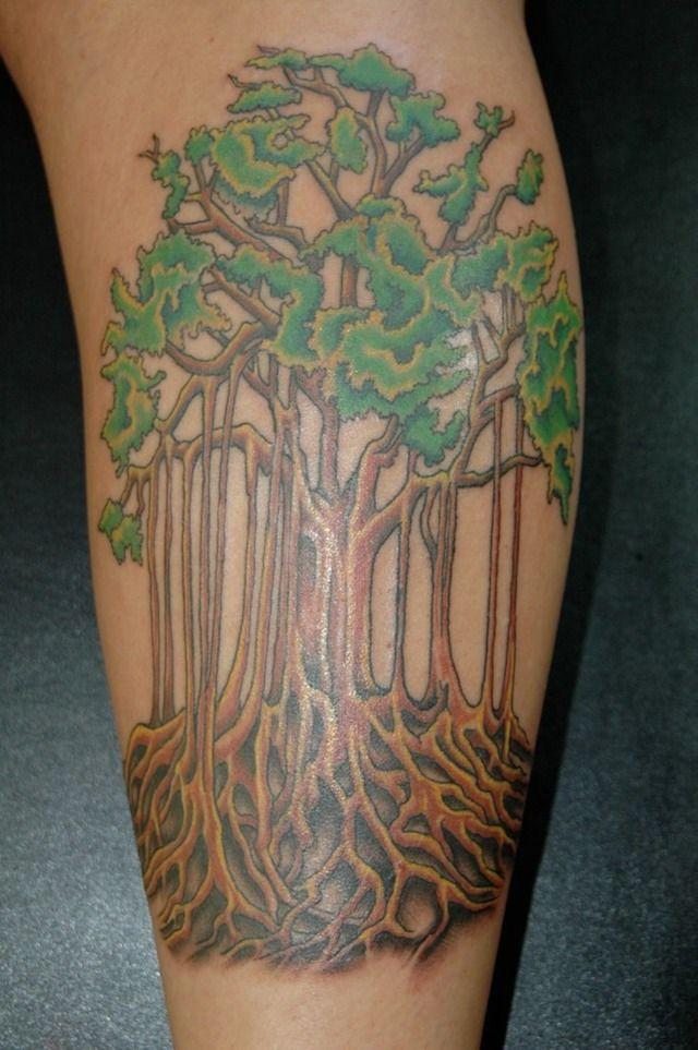 banyan tree inksters tattoo inc halimun house pinterest. Black Bedroom Furniture Sets. Home Design Ideas