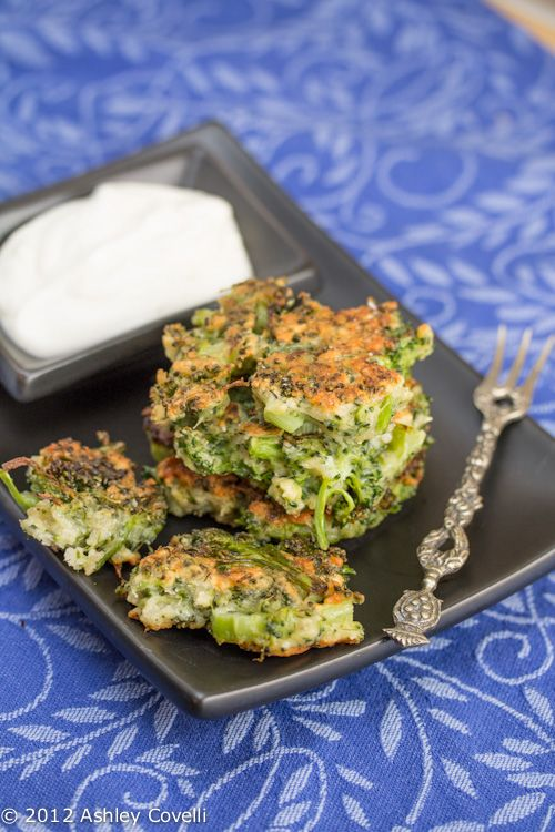 Broccoli Parmesan Fritters | Veggies | Pinterest