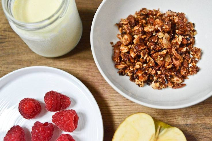 granola recipe on chocolate amp zucchini nuts amp seeds coconut chips ...