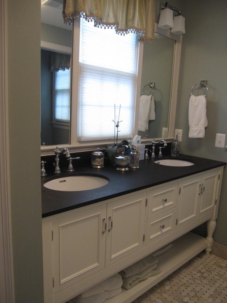Simple Vanity Amp Mirrors Pottery Barn  Bathroom  Pinterest