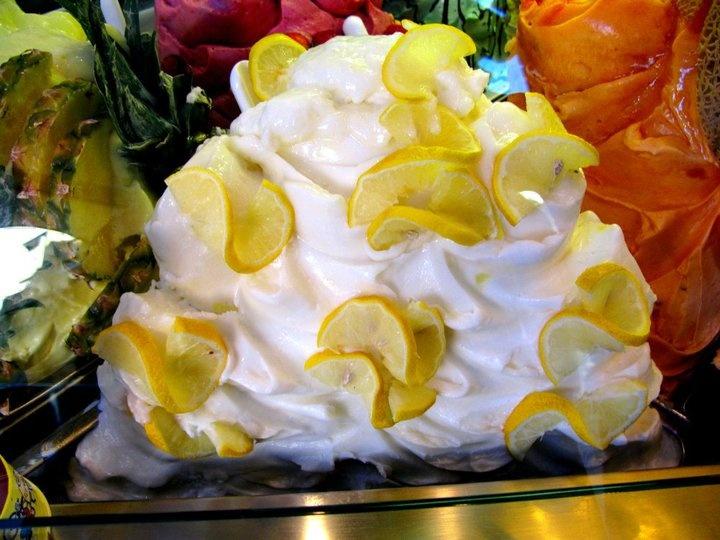 Lemon Gelato! Florence, Italy | My Travels.... | Pinterest
