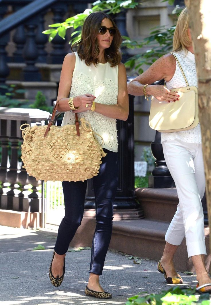 and again with that perfect summer bag.  and I guess perfect look, as always.
