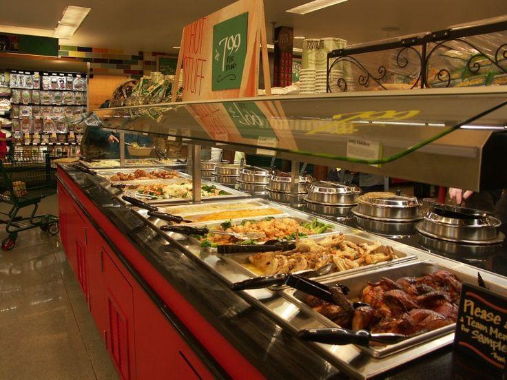 Hot food bar canteen break room pinterest for Food bar pinterest
