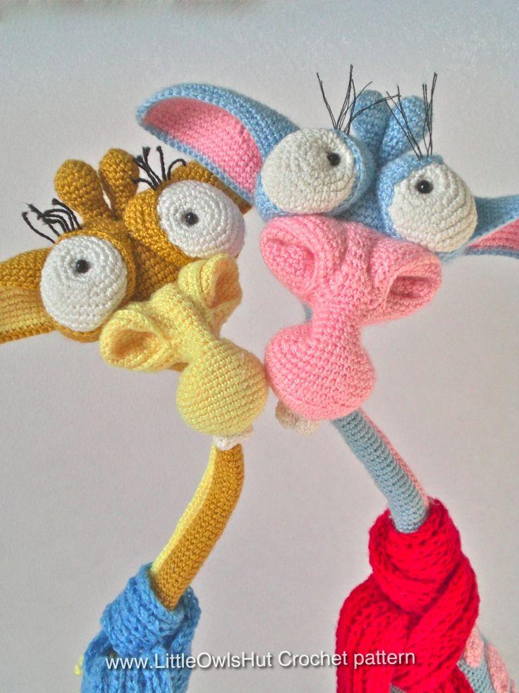 Giraffe George Amigurumi : Project by Natalya Dorohan. Giraffe