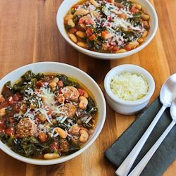 Cannellini Bean And Sausage Stew With Tomatoes And Basil Recipe ...