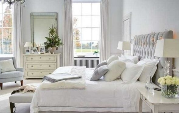 Elegant Grey And White Bedroom Decorate Pinterest