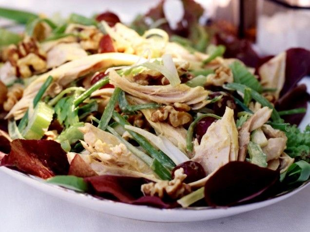 Chicken Salad with Walnuts, Apples and Bleu Cheese | Favorite Recipes ...