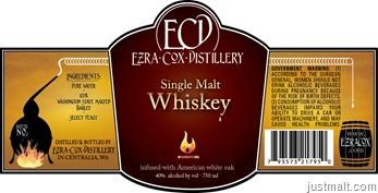 Ezra Cox–Single Malt Whiskey