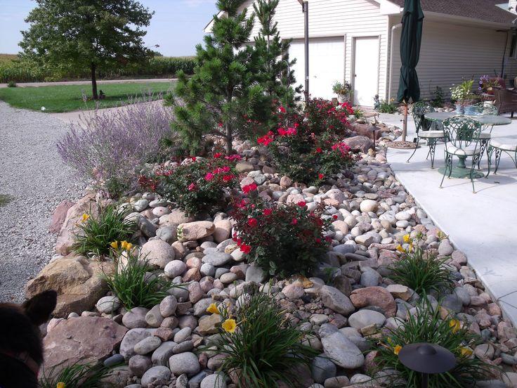Rock bed garden ideas pinterest - Rock bed landscaping ideas ...
