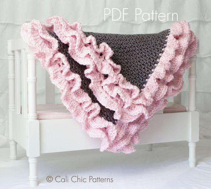 Baby Blanket PATTERN 109 - Foxy Wrap - Crochet Baby ...