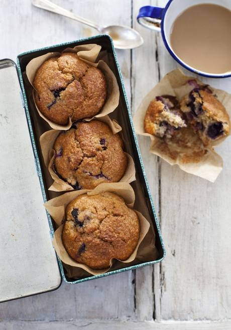 Blueberry-and-banana bran muffins - we keep making these.