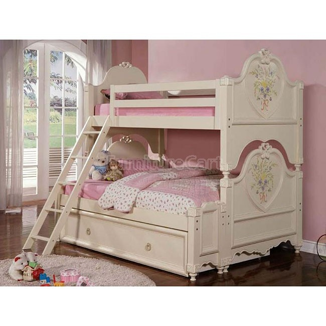 Doll House Twin Over Full Bunk Bed | kids | Pinterest