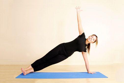 yoga - side plank | I like! | Pinterest