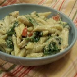 Pasta, Pesto Chicken Penne Casserole, Creamy, Flavorful And So Easy To ...