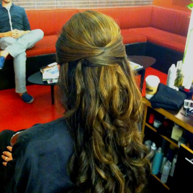 Wedding hair trial | Hair Styles | Pinterest