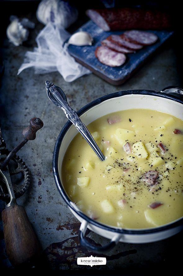creamy pea soup | Food Styling: Soups | Pinterest