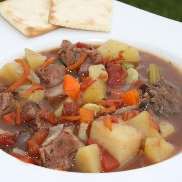 Crock Pot Beef Vegetable Soup Recipe finally one that doesn't use ...