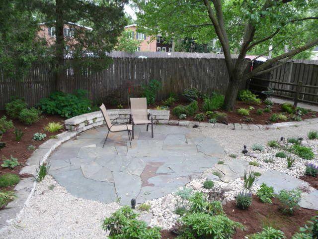 no lawn backyard gardenscapes pinterest