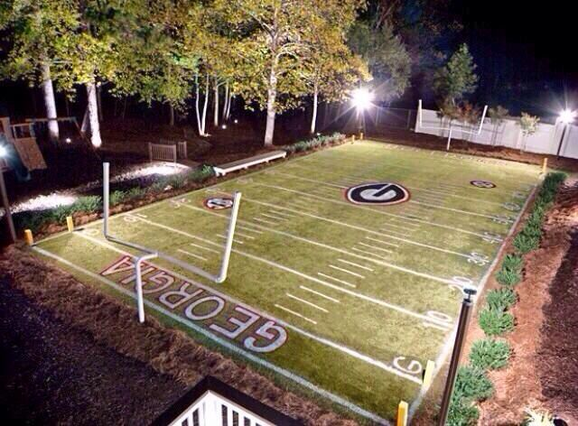 Soccer Field In My Backyard : Backyard football!  Lake House  Pinterest