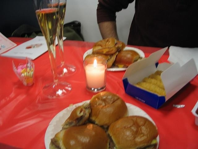 White Castle hosts a Valentine's Day Special each year.