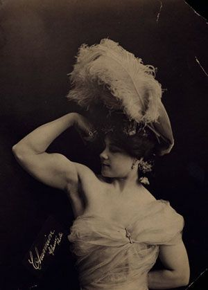 Laverie Vallee, Charmion, was a Sacramento born trapeze artist who possessed strength and a physique most men would be envious of. However, she was most well known for her risqué striptease performances.