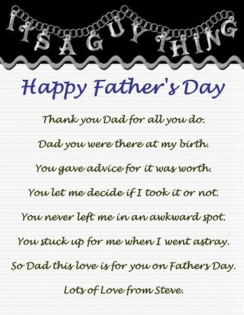 letter to dad from daughter on father's day