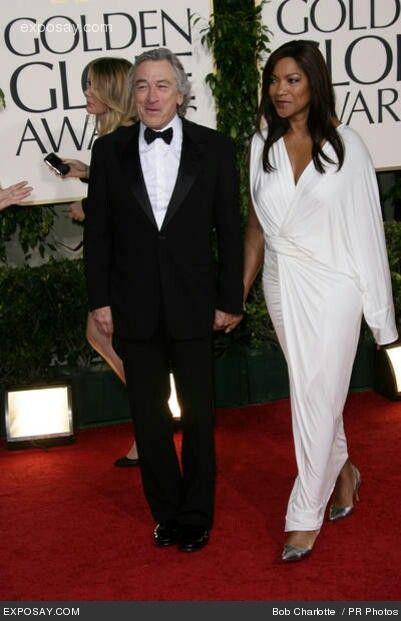 Robert De Niro and wif...
