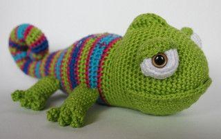Crochet Chameleons : crochet chameleon Crochet Pinterest