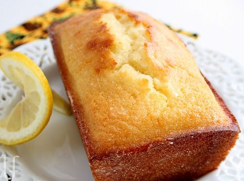 LEMON BREAD Luscious, lemony, speckled with zest and very moist.....