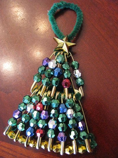 Christmas Tree Ornament – On Pins and Needles! | Naturally Educational