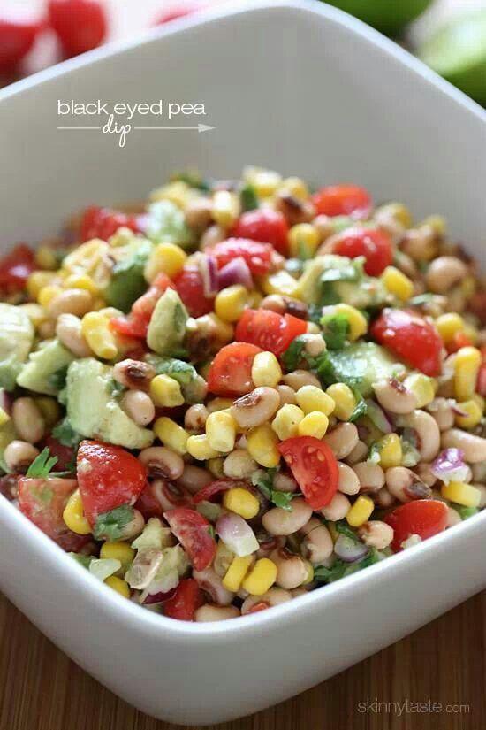 Black eyed pea salsa/dip | food | Pinterest