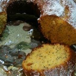 Poppy Seed Bundt Cake II Allrecipes.com This is one of my favorite ...