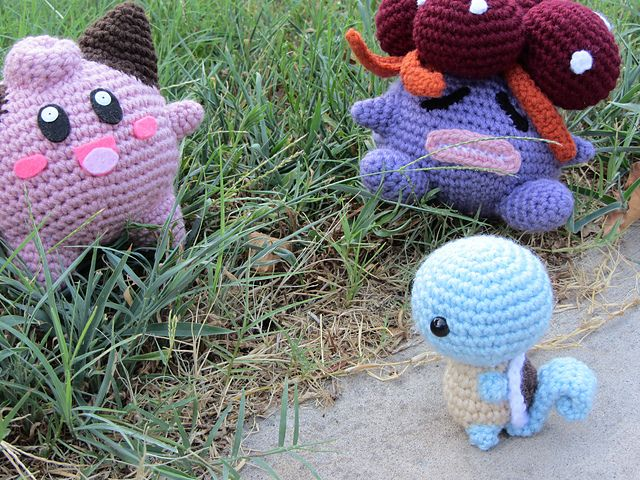 Amigurumi Pokemon Free Pattern : Chibi Squirtle (Pokemon) Amigurumi pattern by Savannah ...