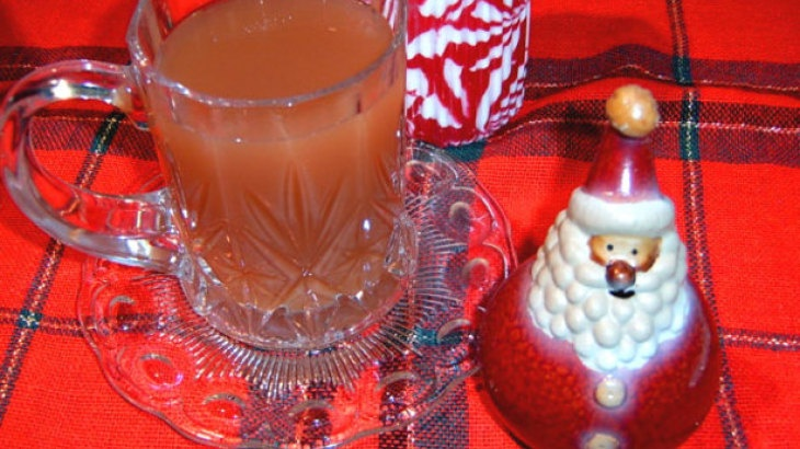 Hot Spiced Cider with Cranberry Juice | Autumn & Thanksgiving | Pinte ...