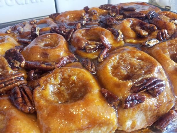 """Easy Sticky Buns: """"These are the best sticky buns I have ever tasted ..."""