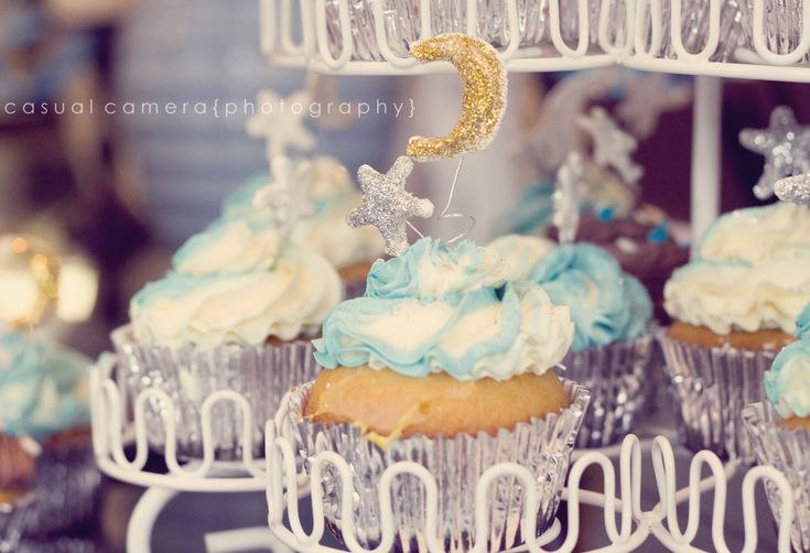 moon and stars baby shower boy babyshower ideas pinterest