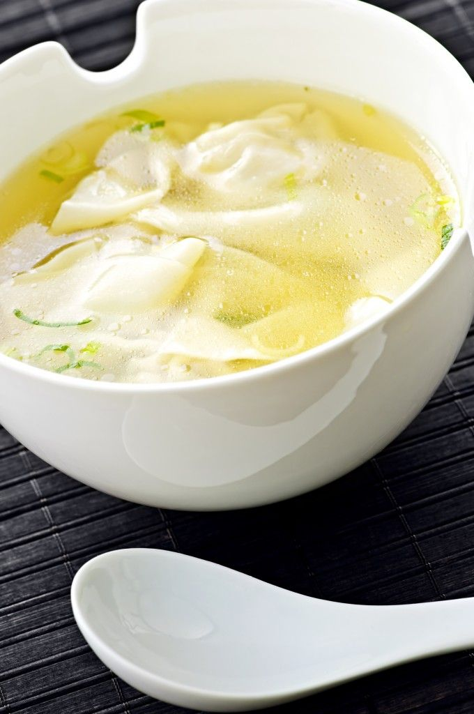 Wonton Soup Recipe - Easy Soup Recipes | I. Love. Food. | Pinterest