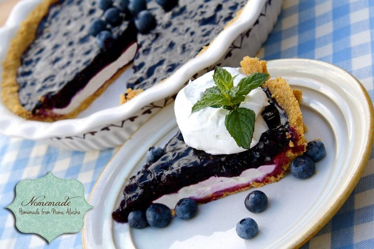 Blueberry-Cream Cheese Pie With Shortbread Crust Recipes — Dishmaps
