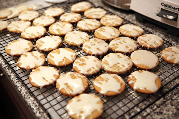 Lemon-Glazed Candied-Ginger Cookies | Cookie Yums | Pinterest