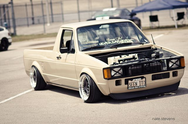 Slammed vw rabbit truck slammed rabbit truck slammed for Garage des pins angers