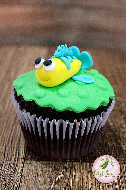 ariel cupcakes | Cupcake - Princesas Disney - Ariel | Flickr - Photo Sharing!
