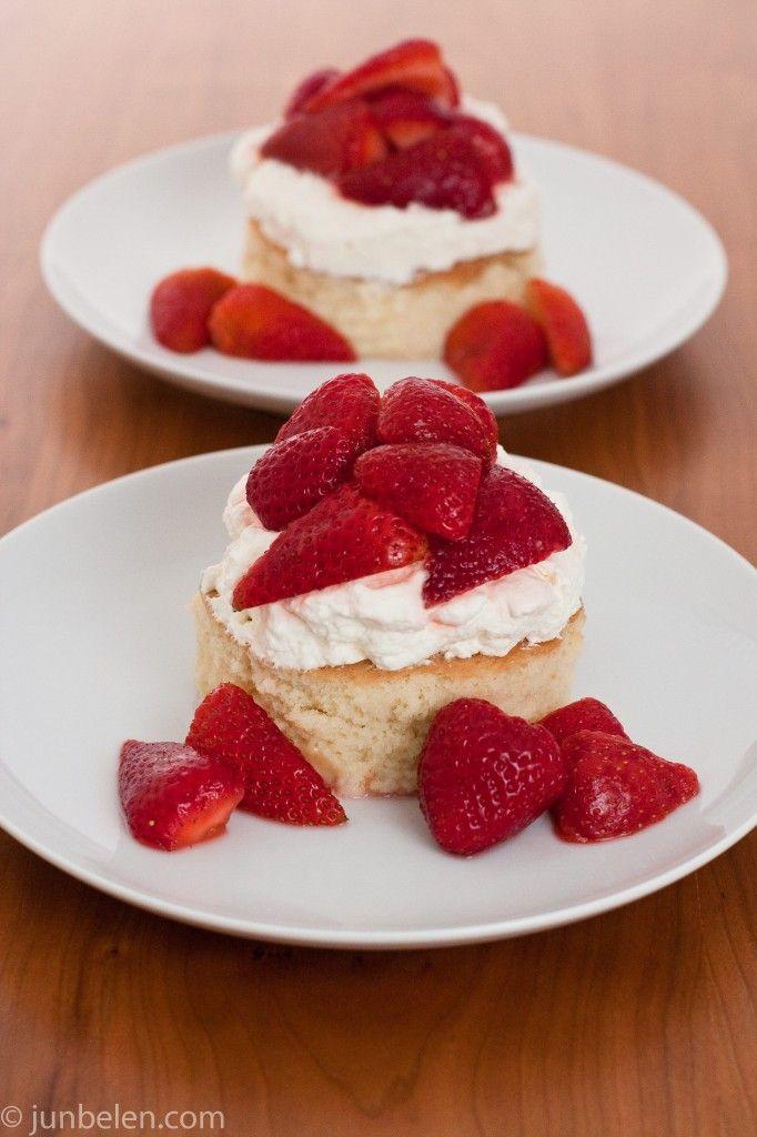 Rick Bayless' Strawberry Tres Leches Shortcake Recipe